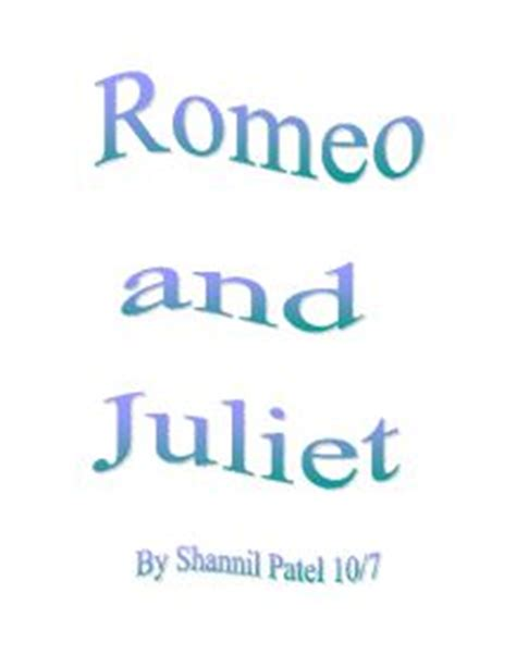 Romeo and Juliet Lesson Plans and Activities - eNotescom